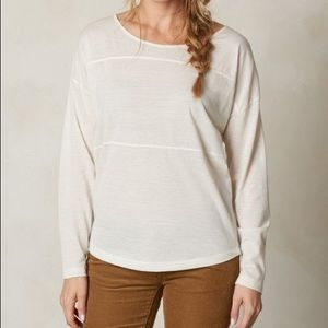 prAna Winter Vicky Long Sleeve Top Size L NWT